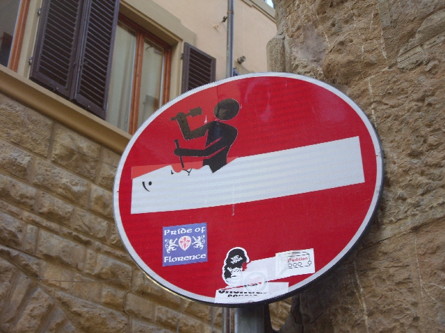 street-sign-florence