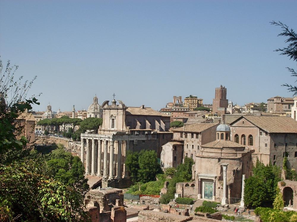rom-forum-romanum-aussicht
