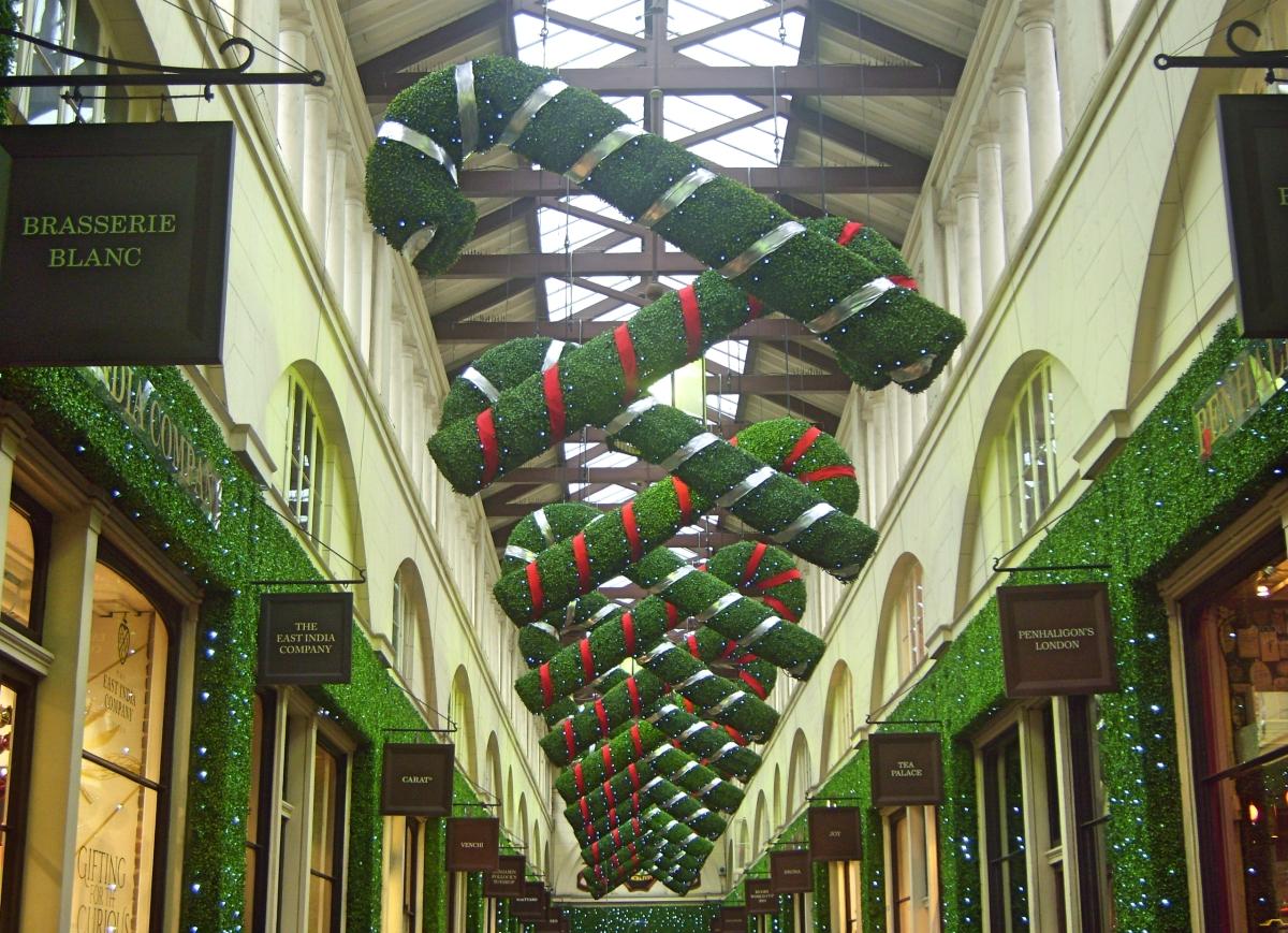 Weihnachten in London Covent Garden