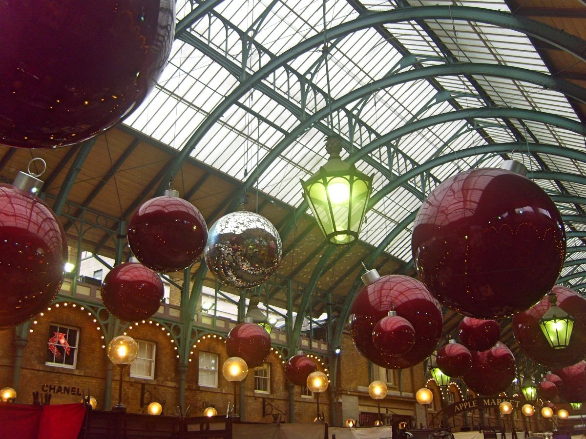 London Covent Garden Christmas