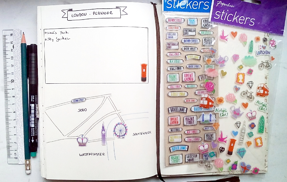 london-planner-reisetagebuch-bullet-journal