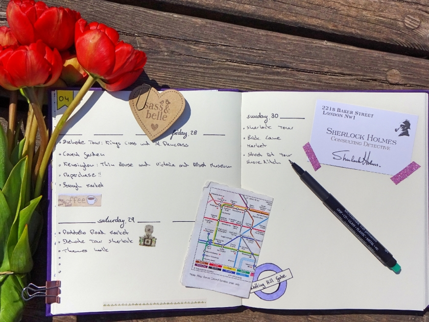 travel-journal-london-set-up-reisetagebuch