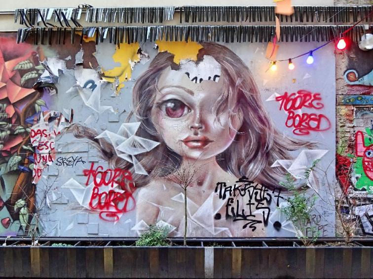 graffiti-mädchen
