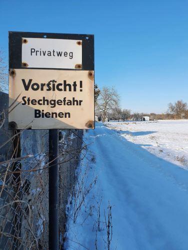 privatweg-schild